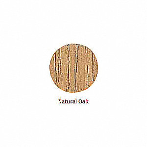 Wood Screw Cap, Natural Oak; PK52