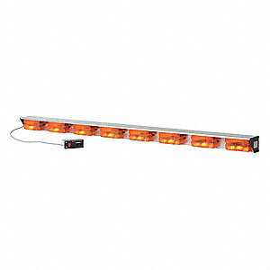 Directional Lightbar,Halogen,Amber,51 In