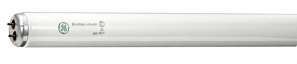 Linear Fluorescent Bulb,  T12,  Medium Bi-Pin (G13),  Lumens 2,200 lm,  4,100 K Color Temperature