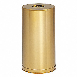 15 gal. Round Gold Trash Can