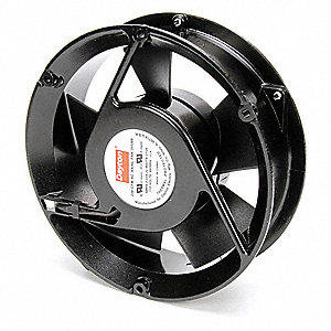 "Round Axial Fan, 6-3/4"" Fan Dia., 115VAC Voltage"