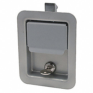 Latch, Flush-Mount, Locking, Paddle