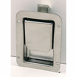 Latch,  Flush-Mount,  Nonlocking,  Paddle