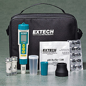 pH Meter Kit 4-In-1 0.00-14.00PH