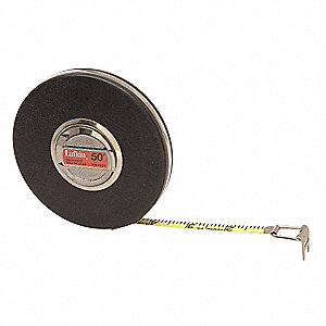 Steel 50 ft. SAE Engineers Long Tape Measure
