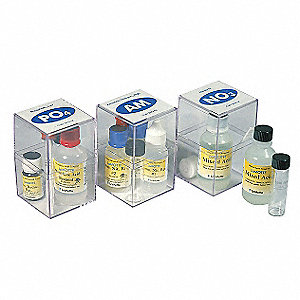 Water Test Ed Kit, Ammonia Nitrogen, PK50