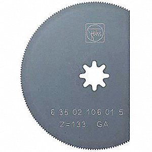 HSS Segmented Cutting Blade for Plastics