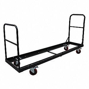 Folding Chair Cart,77x19 7/32,32 Chairs
