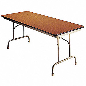 Folding Table,72 inx36 inx30 in,Walnut