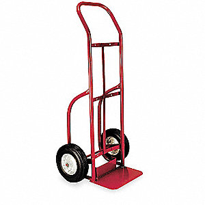 Stair Climbing Hand Truck, Continuous Frame Flow-Back, 500 lb., Overall Width 20""