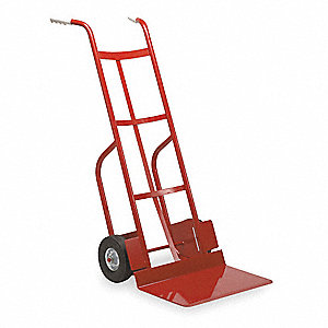 Bag Hand Truck, Dual Grip, 500 lb. Overall Height 45""
