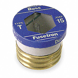 Fuse,4-1/2A,T,125VAC,Screw-In,PK4