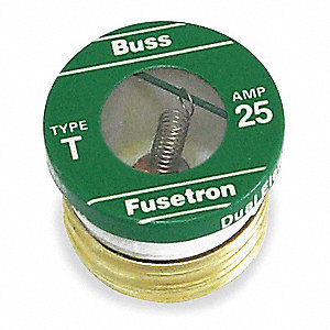 Fuse,1A,T,125VAC,Screw-In,PK4