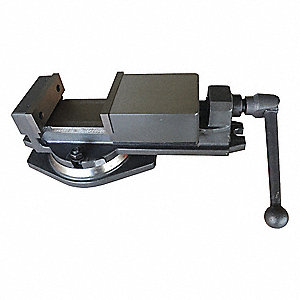 Cast-Iron Milling Vise, 6 In.