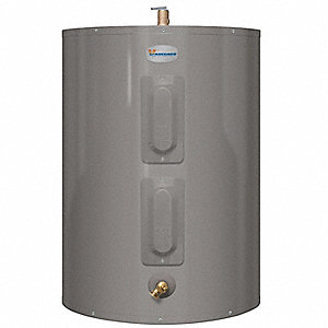 Residential Electric Water Heater, 38 gal. Tank Capacity, 240VAC, 4500 Total Watts