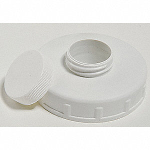 Vent Closure Cap,83-400mm,PP,Wide,Wht