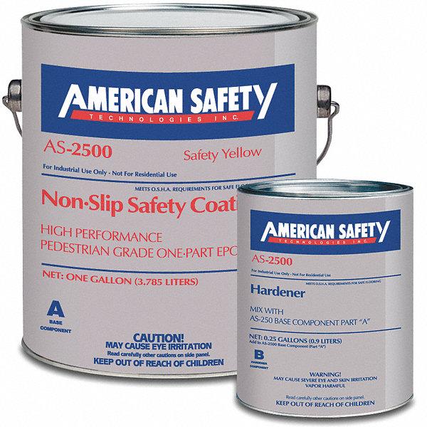 Anti Slip Compound : American safety technologies matte epoxy with kevlar