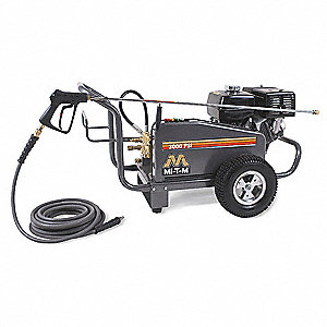 Pressure Washer, Cold Water Type, 3000 psi Operating Pressure, 3.5 gpm Flow Rate