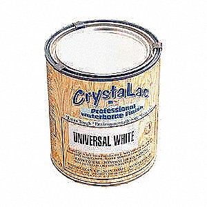 Satin White Exterior Paint, 1 qt.