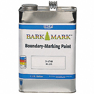 Purple Boundary Marking Paint, Water Base Type, 1 gal.