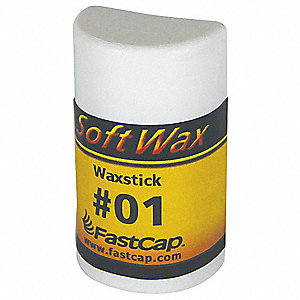 Soft Wax Filler System, 1 oz. Size, White Color, Container Type: Refill Stick