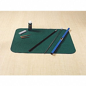 Tool Cleaning Mat,16 In Lx20 In W,Green