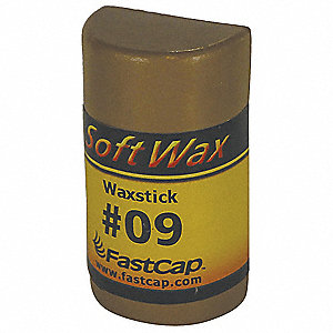 Soft Wax Filler System, 1 oz. Size, Mocha Color, Container Type: Refill Stick