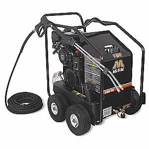 Pressure Washer, Hot Water Type, 2400 psi Operating Pressure, 2.6 gpm Flow Rate