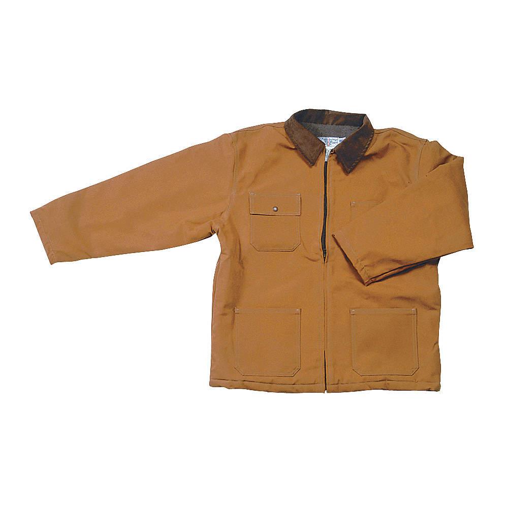 Cotton Duck Brown 2XL Chore Jacket