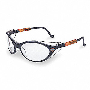 HD100 Scratch-Resistant Safety Glasses, Clear Lens Color