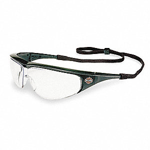HD400 Scratch-Resistant Safety Glasses, Clear Lens Color
