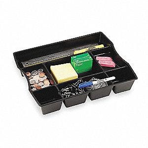 Superb Drawer Organizer, Recycled, Black