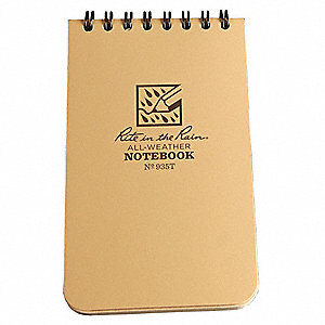 All Weather Memo Book,Universal,3 x 5In.