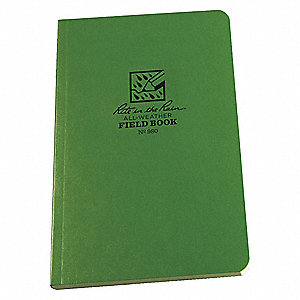 Field Book,Universal,4-5/8 x 7-1/4In.