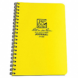 All Weather Notebook,Side Spiral,Journal