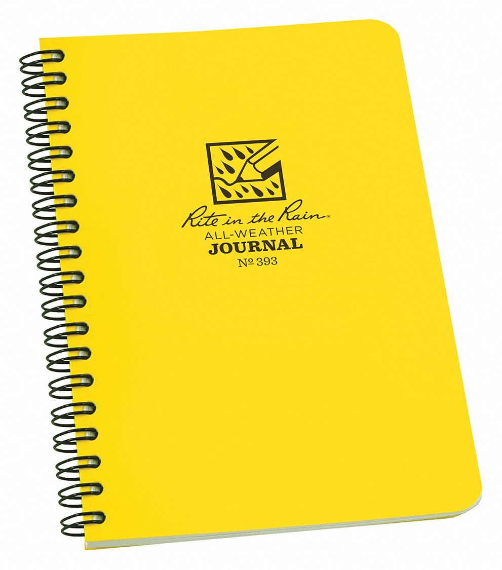 All Weather Notebook,  4-5/8 in x 7 in