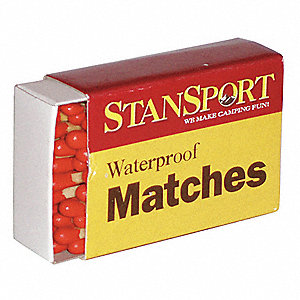 Wood Waterproof Matches