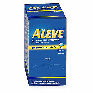 Aleve(R) Naproxen Tablet&#x3b; PK50