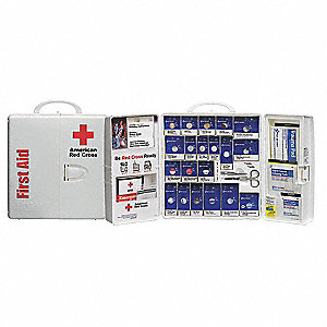First Aid Kit,Unitized,206Pcs