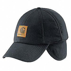 WORKFLEX EAR FLAP CAP BLK L-XL