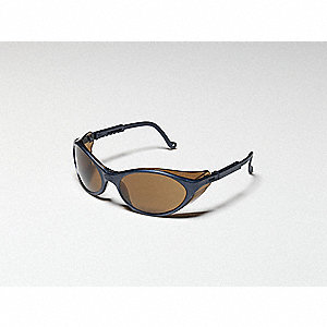Bandit™ Scratch-Resistant Safety Glasses, Gold Mirror Lens Color