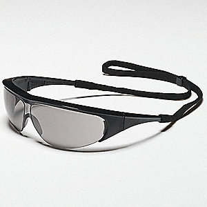 Millennia  Scratch-Resistant Safety Glasses, Gray Lens Color