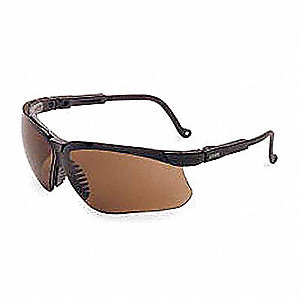 Genesis® Scratch-Resistant Safety Glasses, Espresso Lens Color