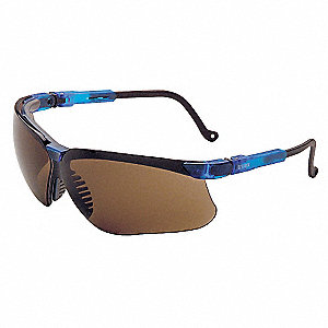 Genesis® Anti-Fog Safety Glasses, Espresso Lens Color