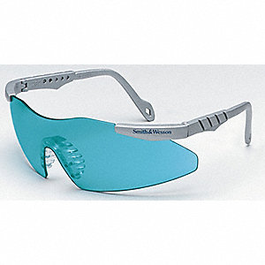 Smith & Wesson® Magnum 3G Scratch-Resistant Safety Glasses, Teal Lens Color