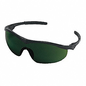Storm® Scratch-Resistant Safety Glasses, Shade 5.0 Lens Color