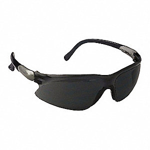 Jackson Safety V20 Visio Anti-Fog, Scratch-Resistant Safety Glasses, Smoke Lens Color