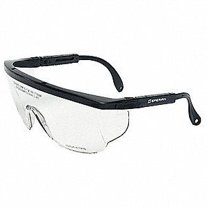 Wraparound Uncoated Laser Safety Glasses with Clear Lenses
