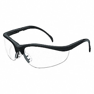Klondike® Anti-Fog, Scratch-Resistant Safety Glasses , Clear Lens Color