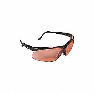 Genesis® Anti-Fog Safety Glasses, SCT-Vermilion Lens Color